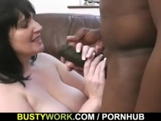 Cock is filling her fat hole...