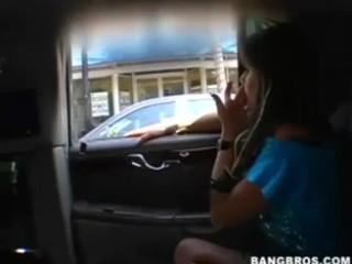 Rachel Roxxx Turns The Car Into A Strip Club