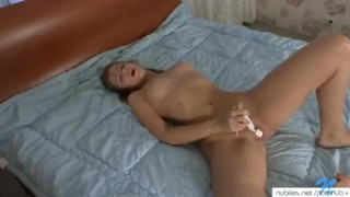 Innocent girl first orgasm video