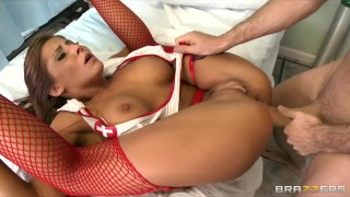 Hot busty doctor roughsex hospital by nurse paid ivy madison for babes orgasm