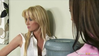New secretary office strapon punish a with hot mean lesbians girl on