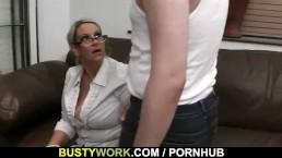 BBW spreads legs for big dick