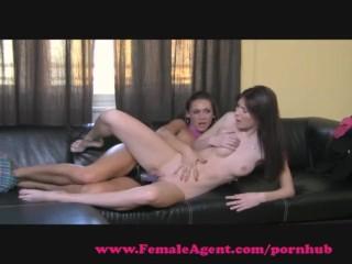 FemaleAgent. Strap on seduction