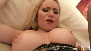 Beautiful blond MILF Aiden Starr makes her son-in-law to cheat