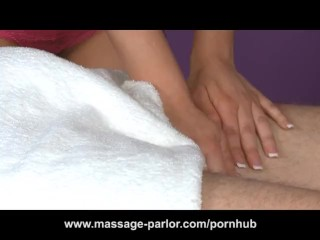 Bailey Blue Gives a Happy Ending Massage