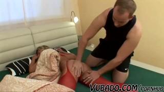 RUSSIAN SEXY GILF FUCKED !! porno