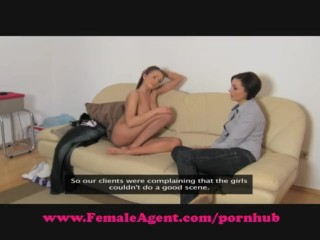 FemaleAgent. All natural busty beauty.