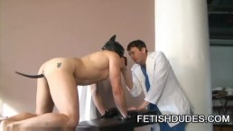 DILF doctor humiliating his customer