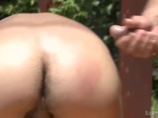 Smooth stud ass show