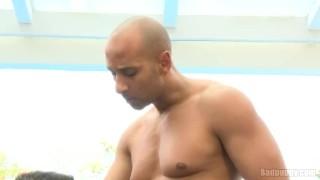 Angel michael sucks black gay ebony