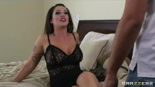 Slutty big-tit brunette Melina Mason is punished with rough anal Teenager raven