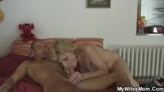 He gets pleased by mother in law