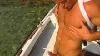 Outdoors hunk muscular solo muscle