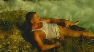 Outdoors jerking hunk uncut men.com gay