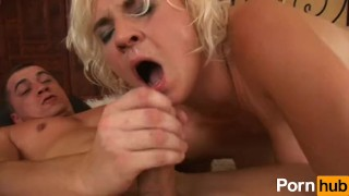 Hairy blonde cunt in milf her busty fucked tits pornhub.com