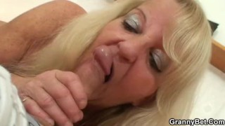 black grandma blowjob