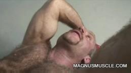 Hairy Dilfs Christian Volt and Tom Colt Locker Room Sex