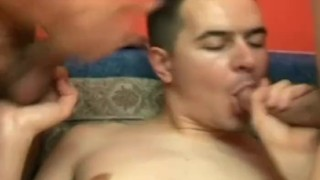 Horny Men Threesome