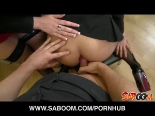 Cherokee's got a big ass to oil it and get spanked Any Porn Fuck Cherokee Two Guys Watch Spank
