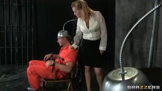 Two death row inmates get one last threesome with Krissy Lynn