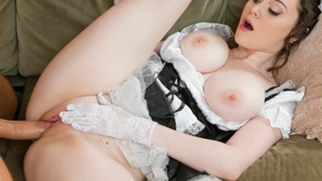 Horny French Maid With Perfect Natural-Tits Has Multiple -6065
