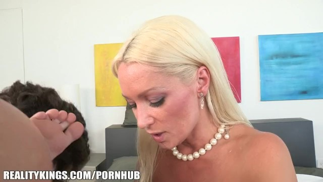 Milf samantha from reality kings Sexy russian milf fucks her daughters bf in the shower