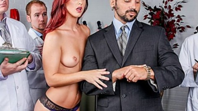 Incredibly HOT Redhead Karlie Montana Fucks her Dream Man
