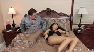 Cheating Asian wife has a wet dream about her big-dick butler Petite russian