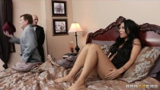 Cheating Asian wife has a wet dream about her big-dick butler Lingerie cowgirl