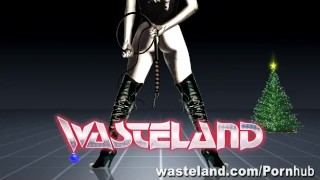 The Consequences Of Elf-Ware: A Wasteland FemDom Christmas! Torture lesbians