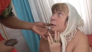 Big Black Cock Creampies Grandma with Huge Tits Pussy ass