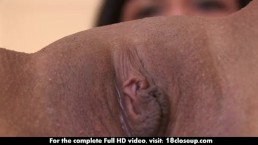 Melissa's Pussy Explored Up Close