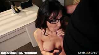 Slutty busty counselor Diana Prince fucks her patient Milf blowjob
