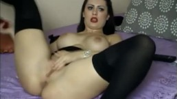 Multiple Dildo Pussy and Ass Penetration HD