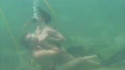 Wild and Wet Underwater Fucking