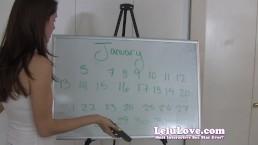 Lelu Love-Your January Cum Schedule
