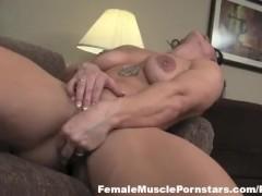 BrandiMae and Her Big Purple Snake
