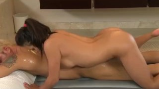 Asian Nuru Massage Girl With Huge Tits Fucked Hard Mouth facial