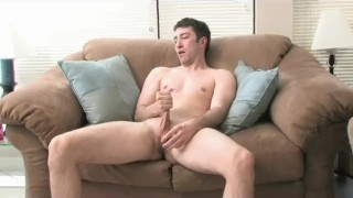 College Boy doing his Horny Work Solo masterbation