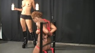 Interracial Bound Scene 1