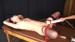 Lesbians Bound And Fucked - Scene 2