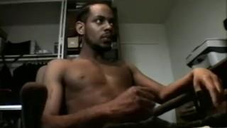 Thug jerks cock for huge his us wanking masturbating