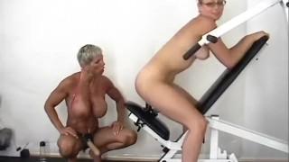 Strap On Champion Workout - Scene 2 Small fuck
