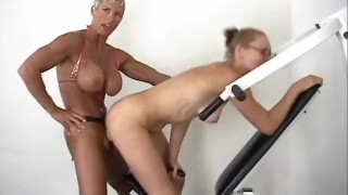 Strap On Champion Workout - Scene 2 Belgian ass
