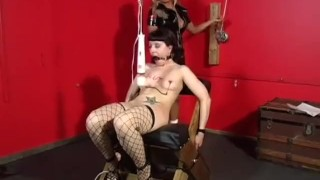 Jezebel knight domination scene the  of slapping clamp