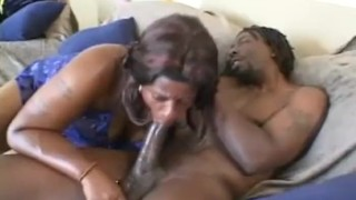 Hot Ebony BBW Babe Sucks And Gets Fucked porno