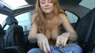 BACK SEAT FUCKS 3 - Scene 6 Redhead tits