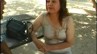 Granny Handjob Facial