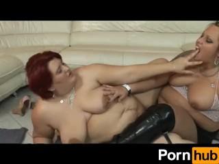 Lesbian Heavy Hitters 5 - scene 3
