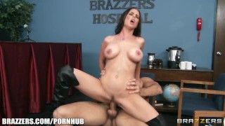 Brandy Aniston will do anything to get her medical licence Tits bang